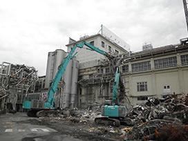 アサヒビール西宮工場解体撤去工事