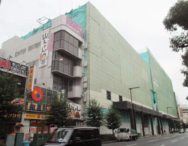 姫路フォーラス東・西館解体工事