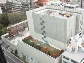 大阪弥生会館跡地解体工事
