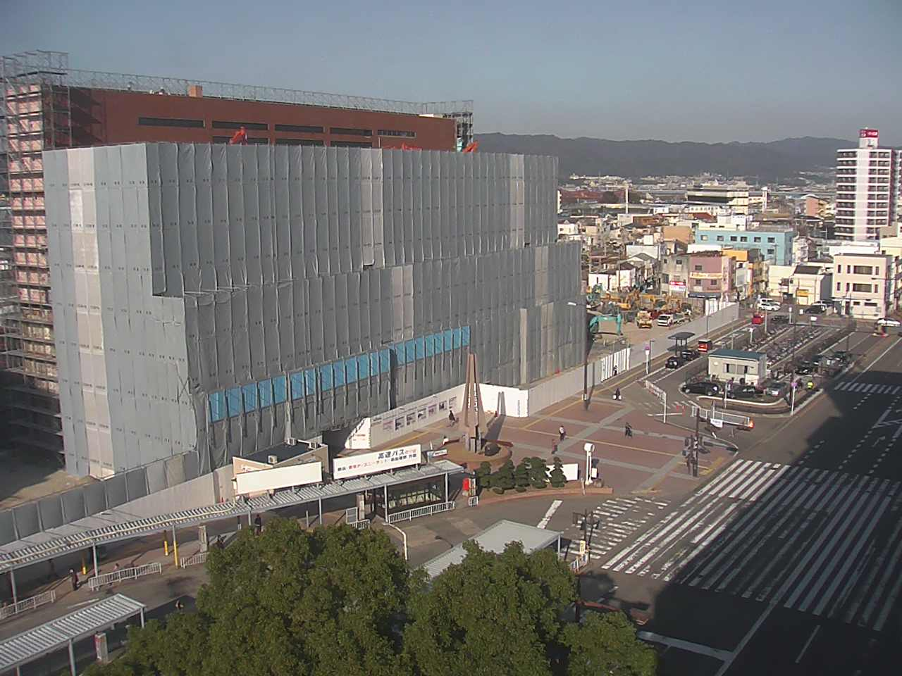 南海和歌山市駅既存ビル解体工事