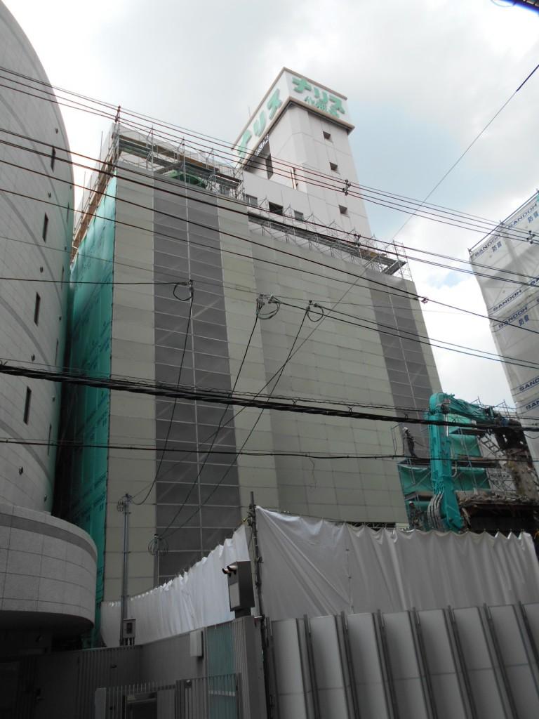 ㈱ナリス大阪ビル ウィングビル解体 倉庫解体工事