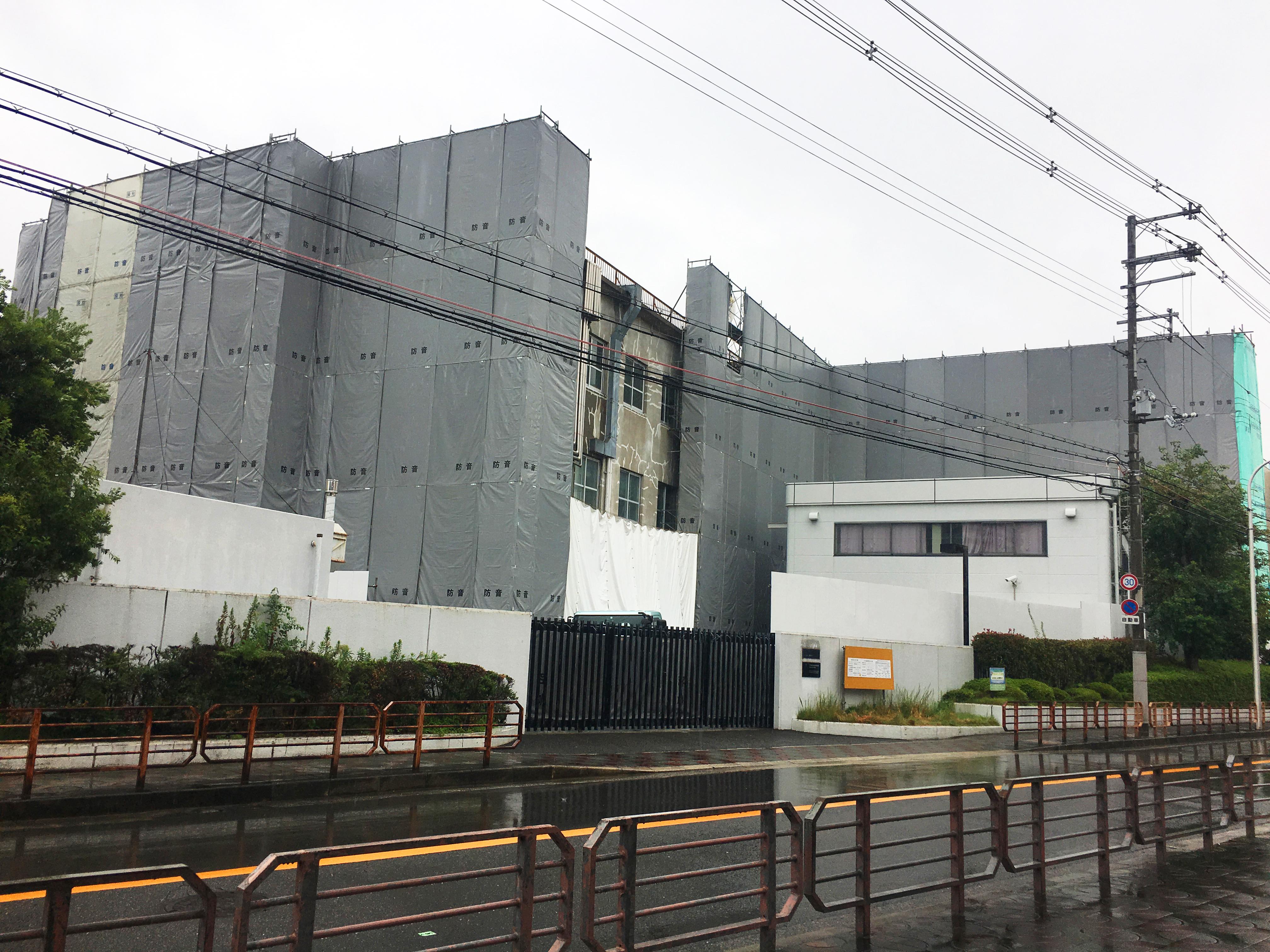 コニカミノルタ堺サイト 南4号棟解体工事
